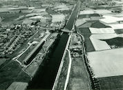 Kanaal Bossuit-Kortrijk ter hoogte van Zwevegem-Knokke 1976