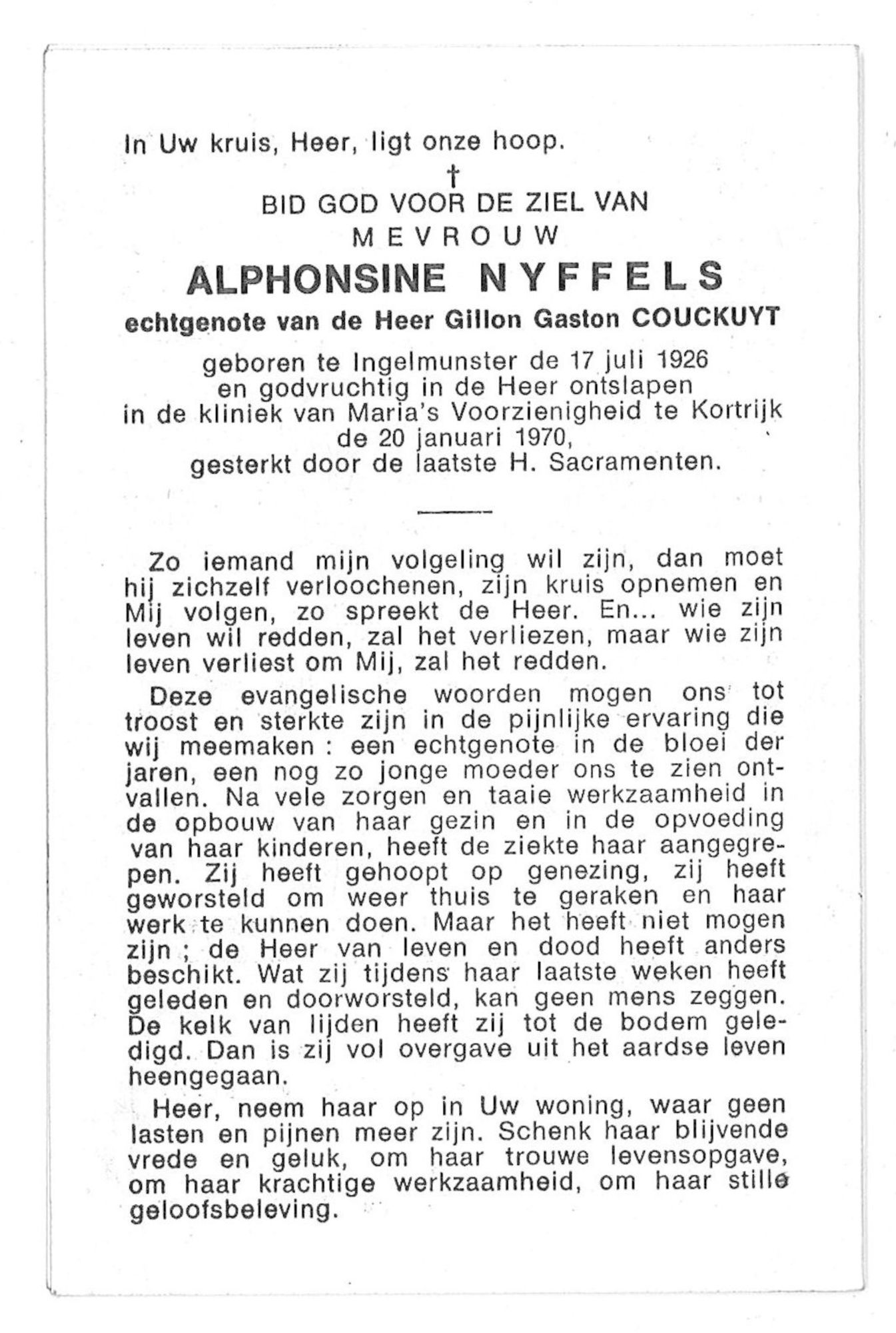 Alphonsine Nyffels