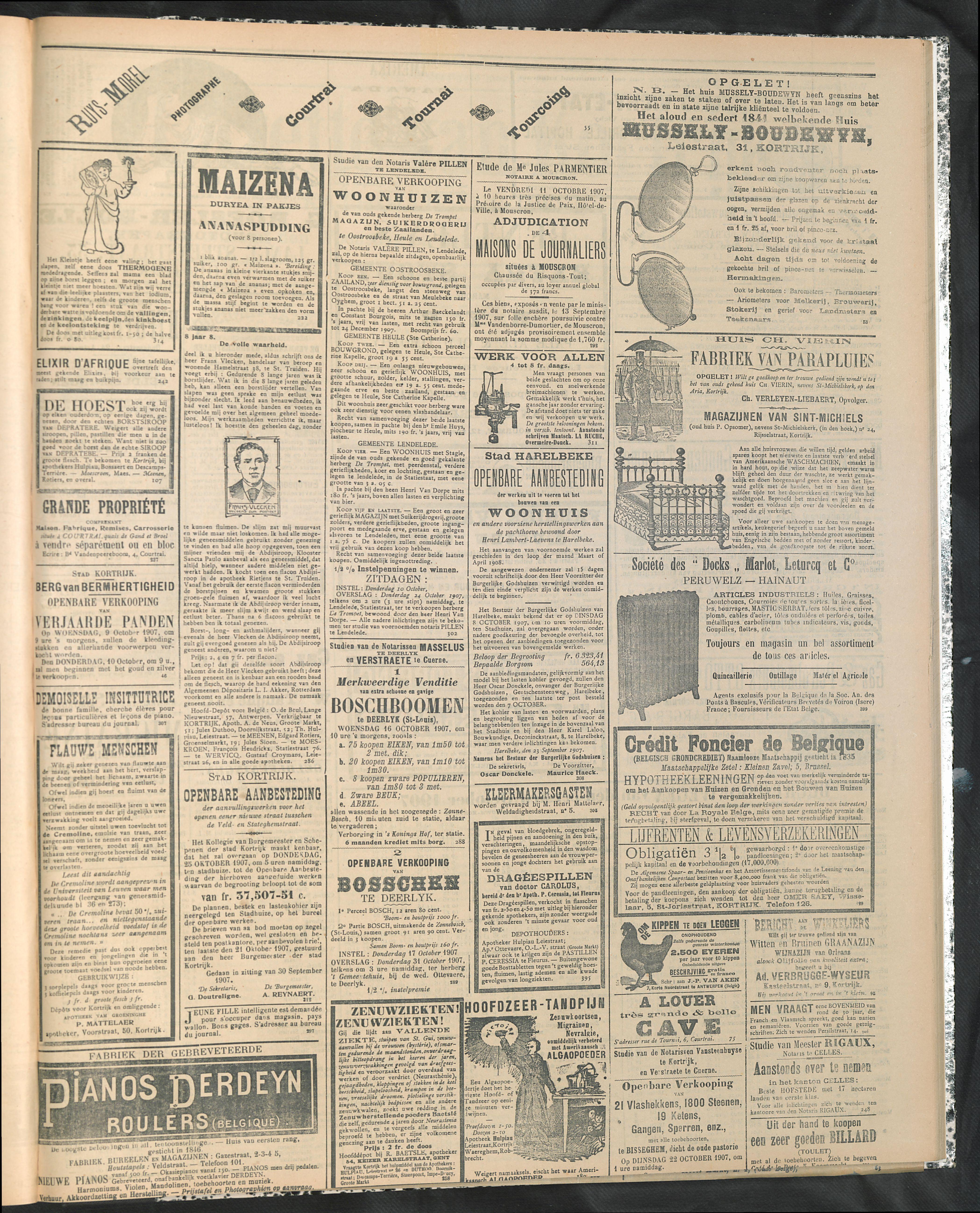 Gazette Van Kortrijk 1907-10-06 p3