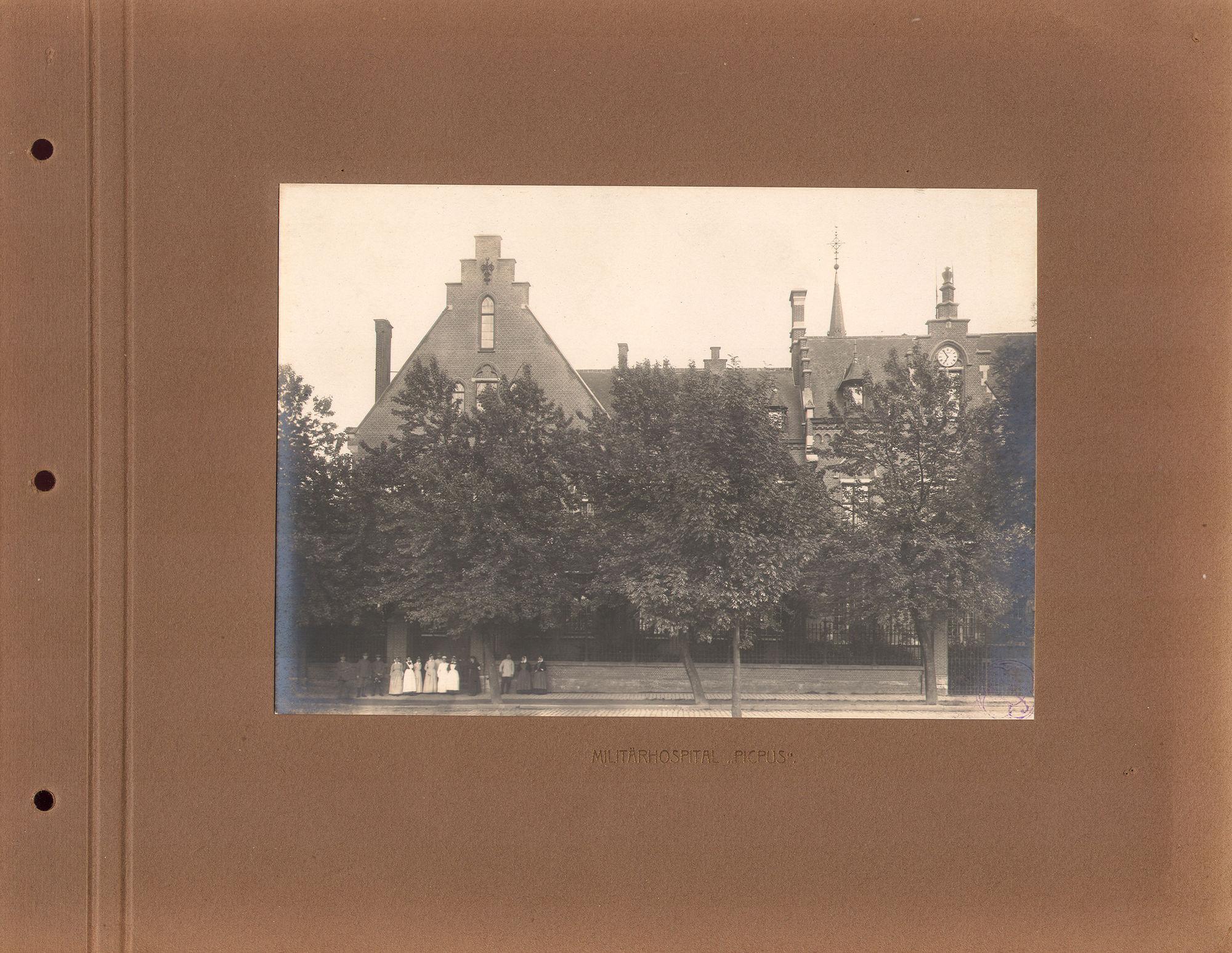 Picpussen tijdens Wereldoorlog I
