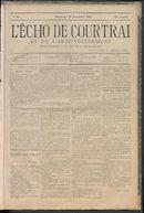 L'echo De Courtrai 1885-11-29