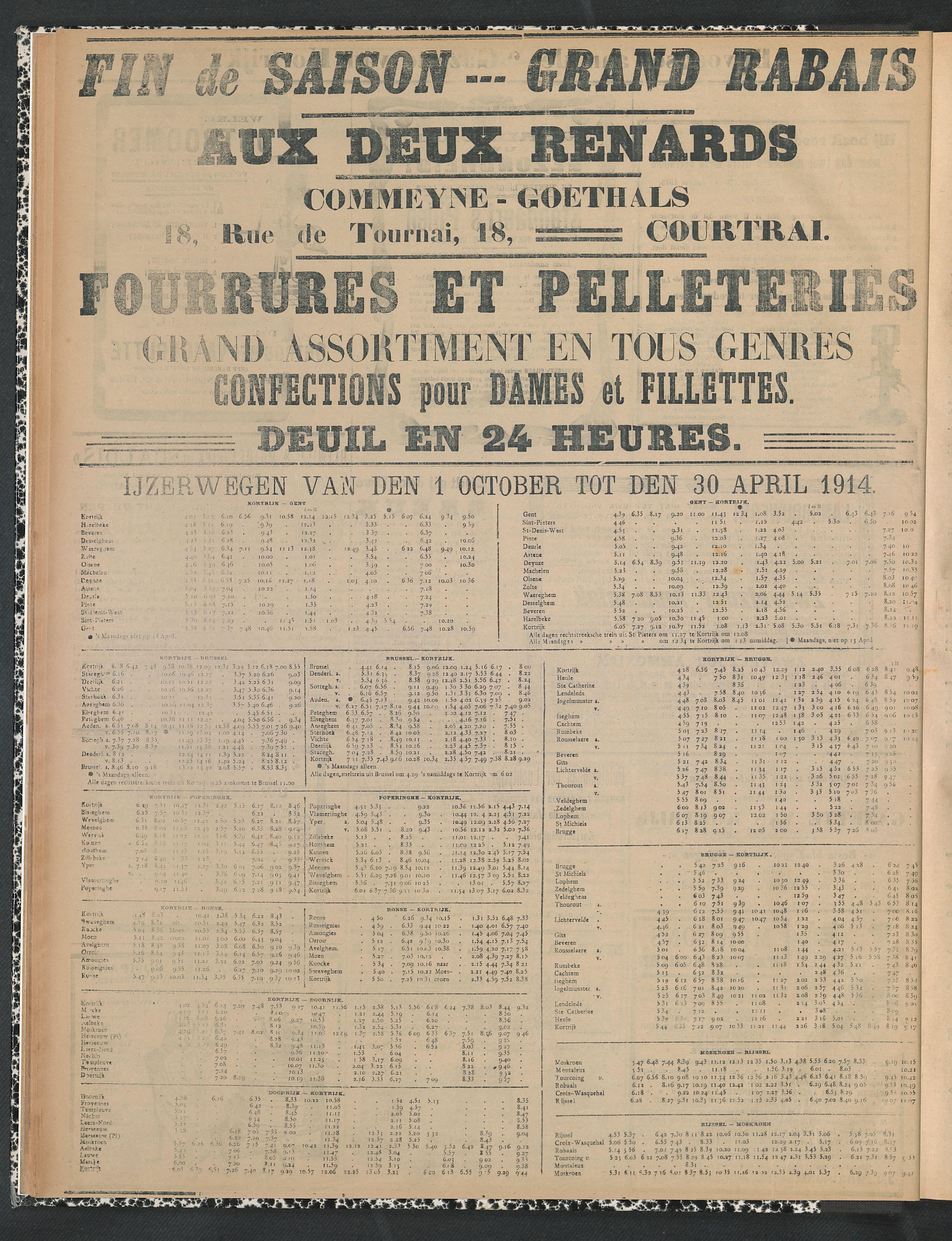 Gazette Van Kortrijk 1914-01-18 p6