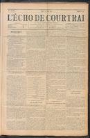 L'echo De Courtrai 1911-06-08