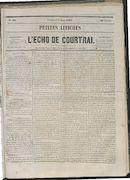 L'echo De Courtrai 1865-06-02