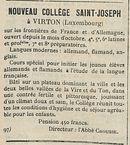 NOUVEAU COLLEGE SAINT-JOSEPH