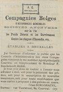 Compagnies Belges