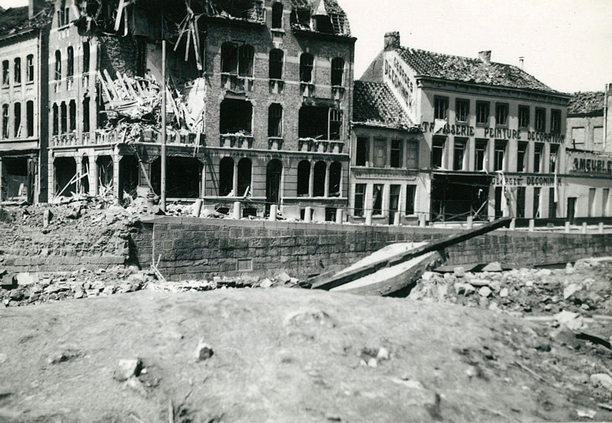 Suikerbakkerij Goemaere in 1940