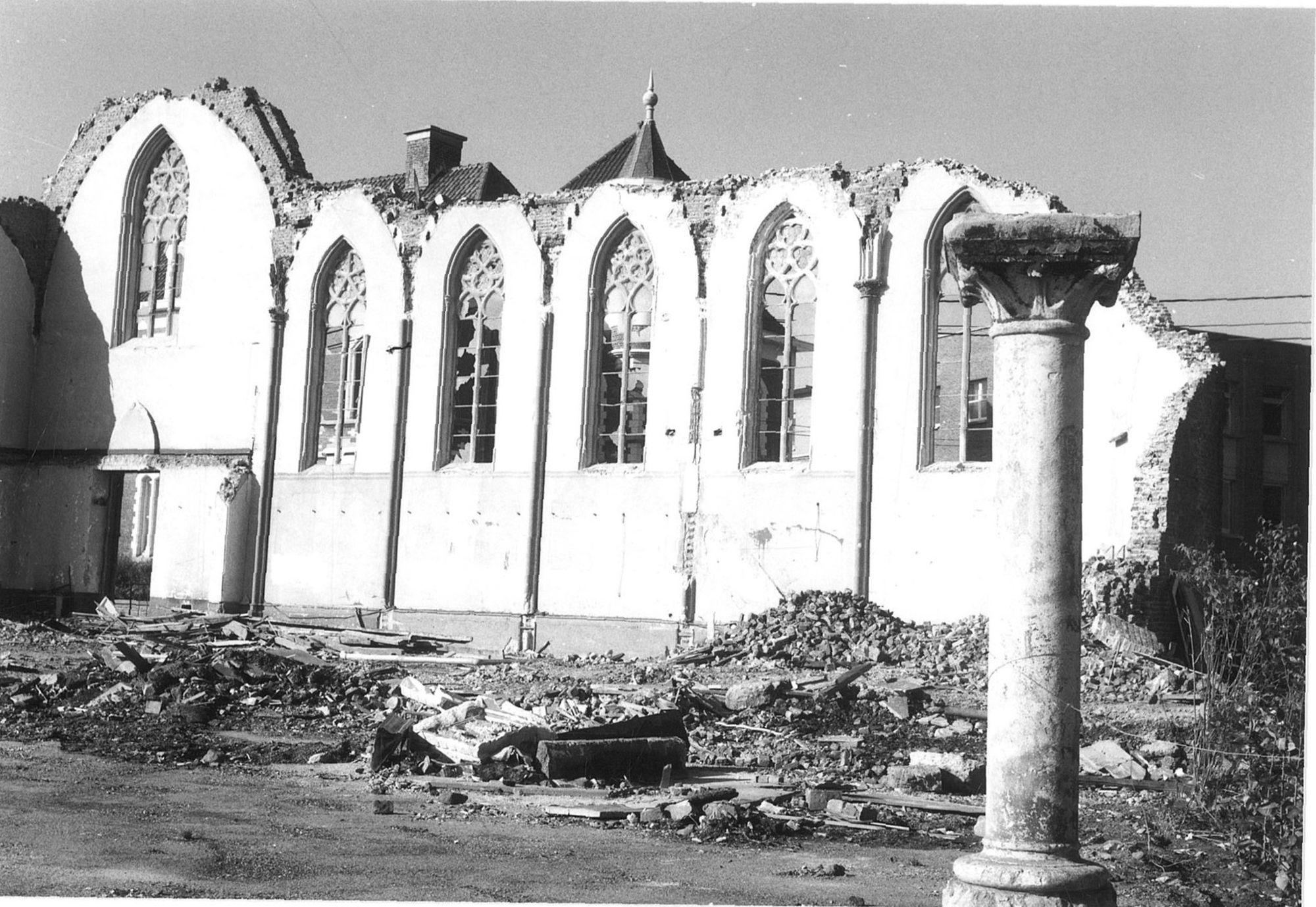 Sloping klooster van de zusters van Don Bosco 1986