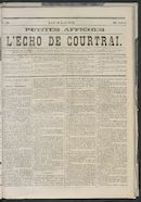 L'echo De Courtrai 1873-04-10 p1