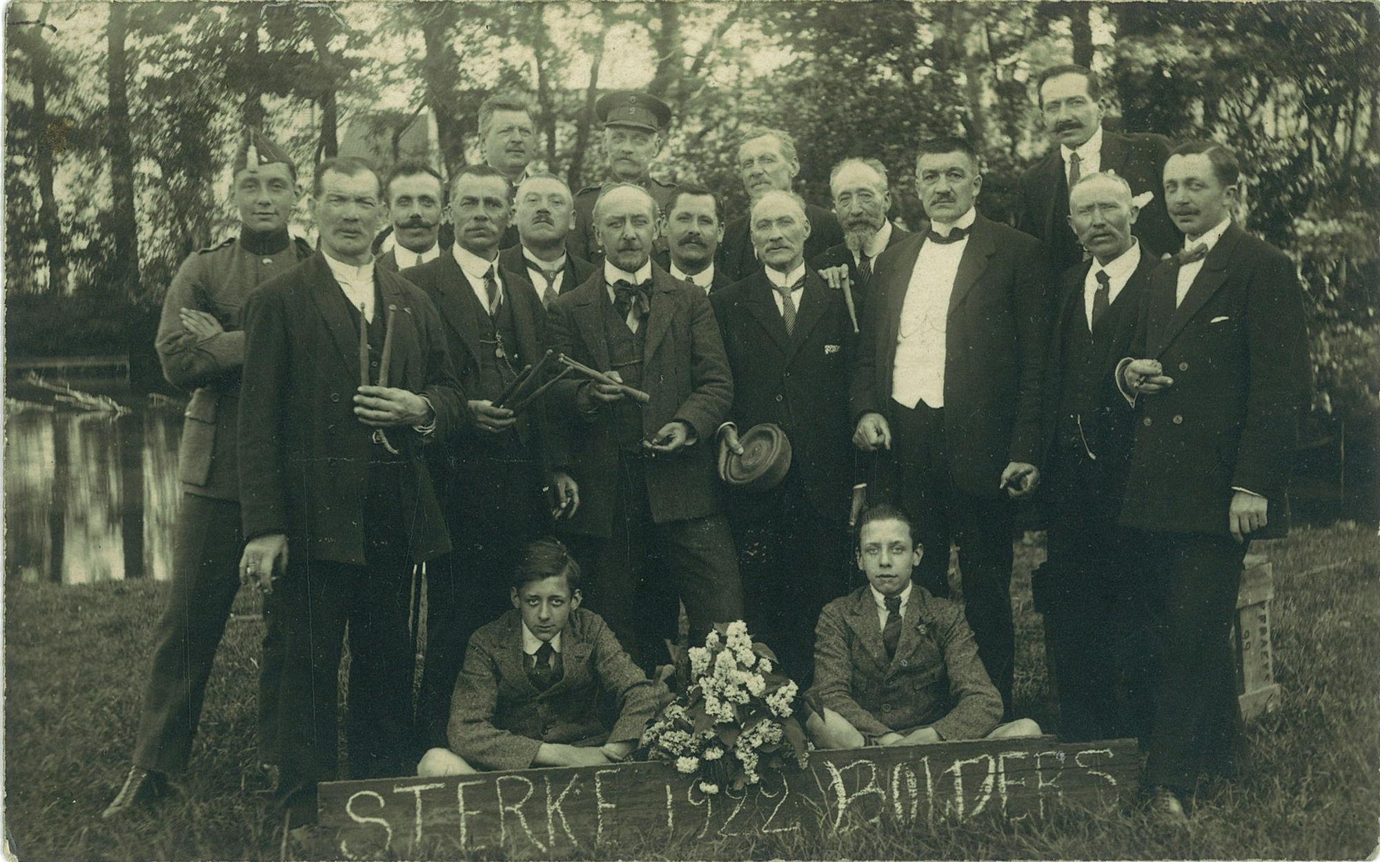 Boldersclub Sterke Bolders 1922_