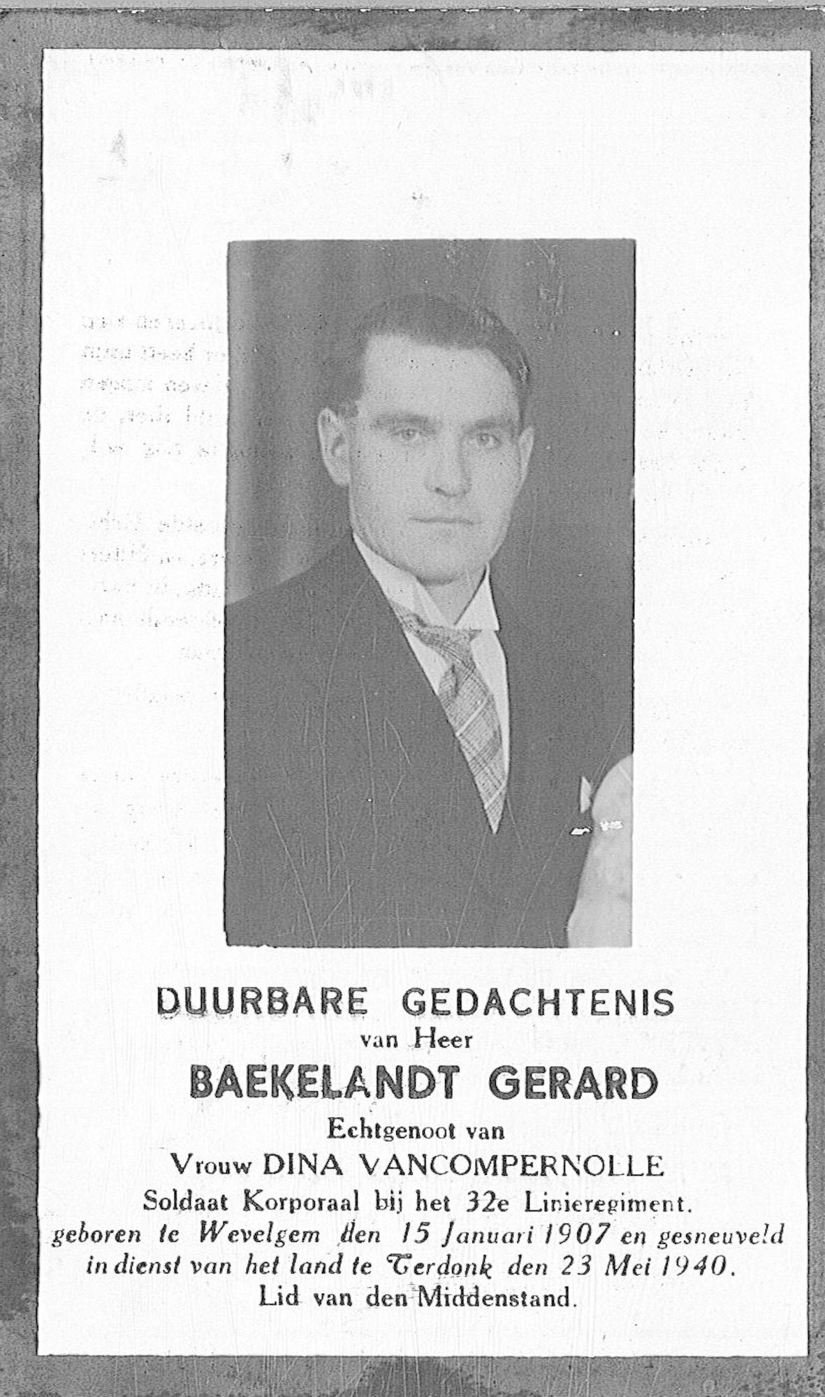 Gerard Baekelandt