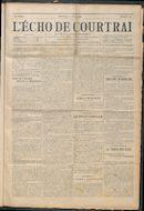 L'echo De Courtrai 1914-04-05