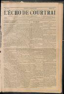 L'echo De Courtrai 1897-09-19