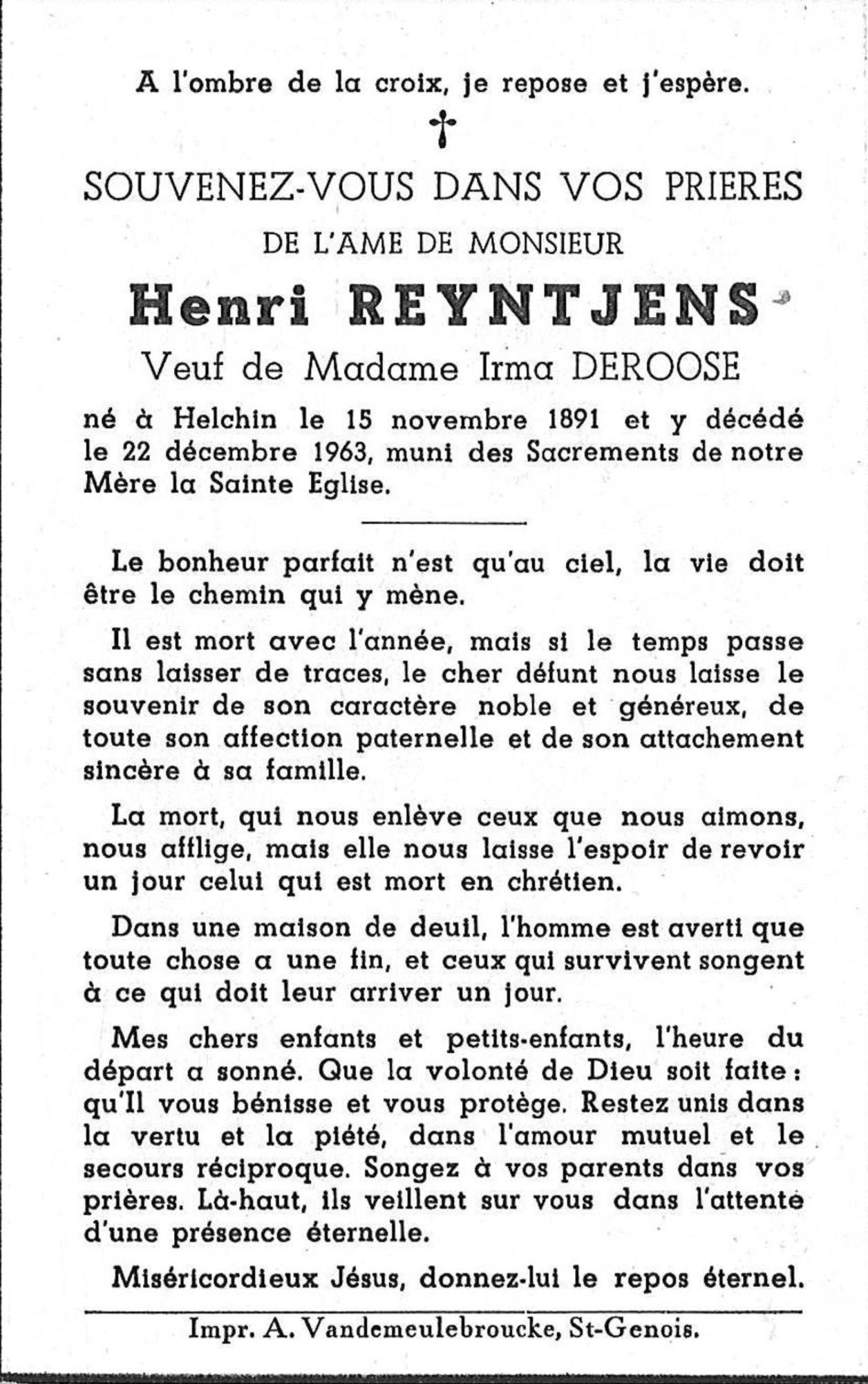Henri Reyntjens