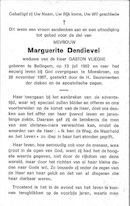 Marguerite Dendievel