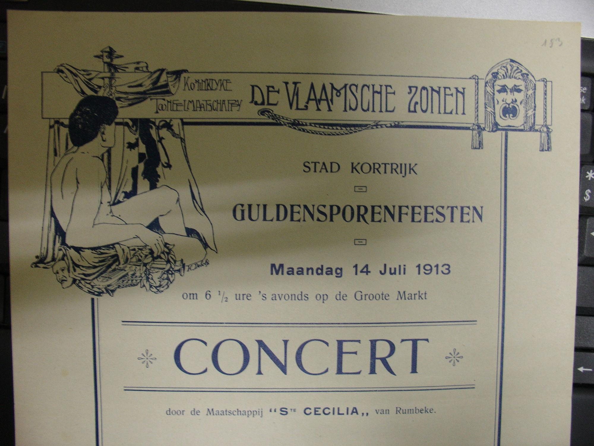 """Toneelvereniging """"De Vlaamse zonen"""""""