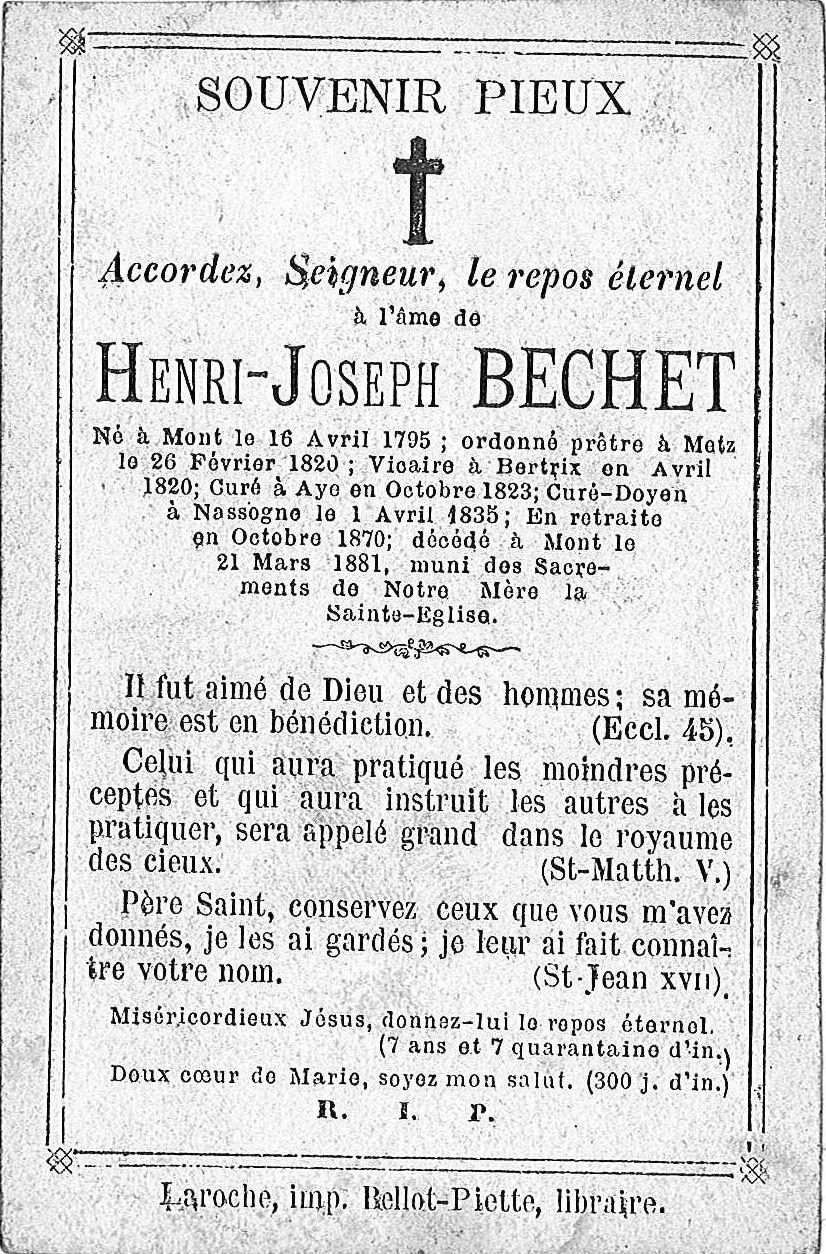 Henri-Joseph Bechet