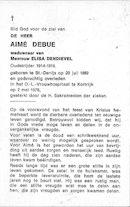 Aimé Debue