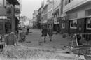 Aanleg van de winkel wandelstraat in de Lange Steenstraat