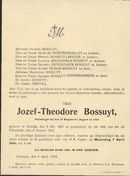 Bossuyt Jozef-Theodore
