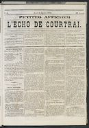 L'echo De Courtrai 1873-01-09