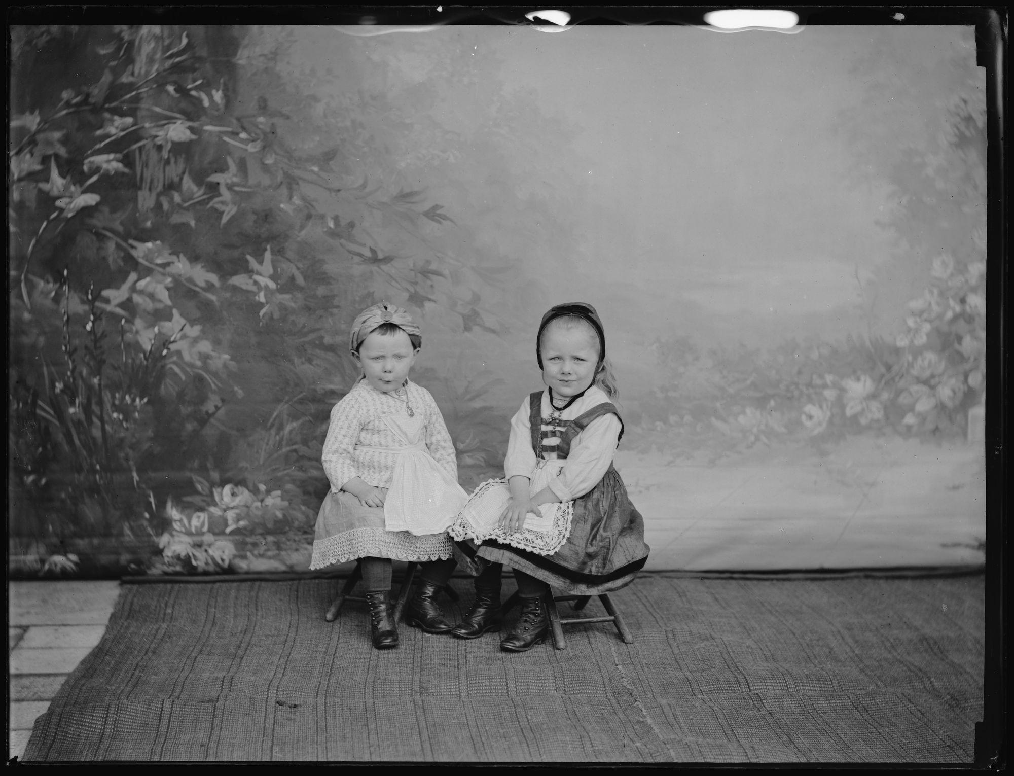 Portret van kinderen Albéric Goethals.