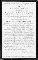 Adolf Van Hecke