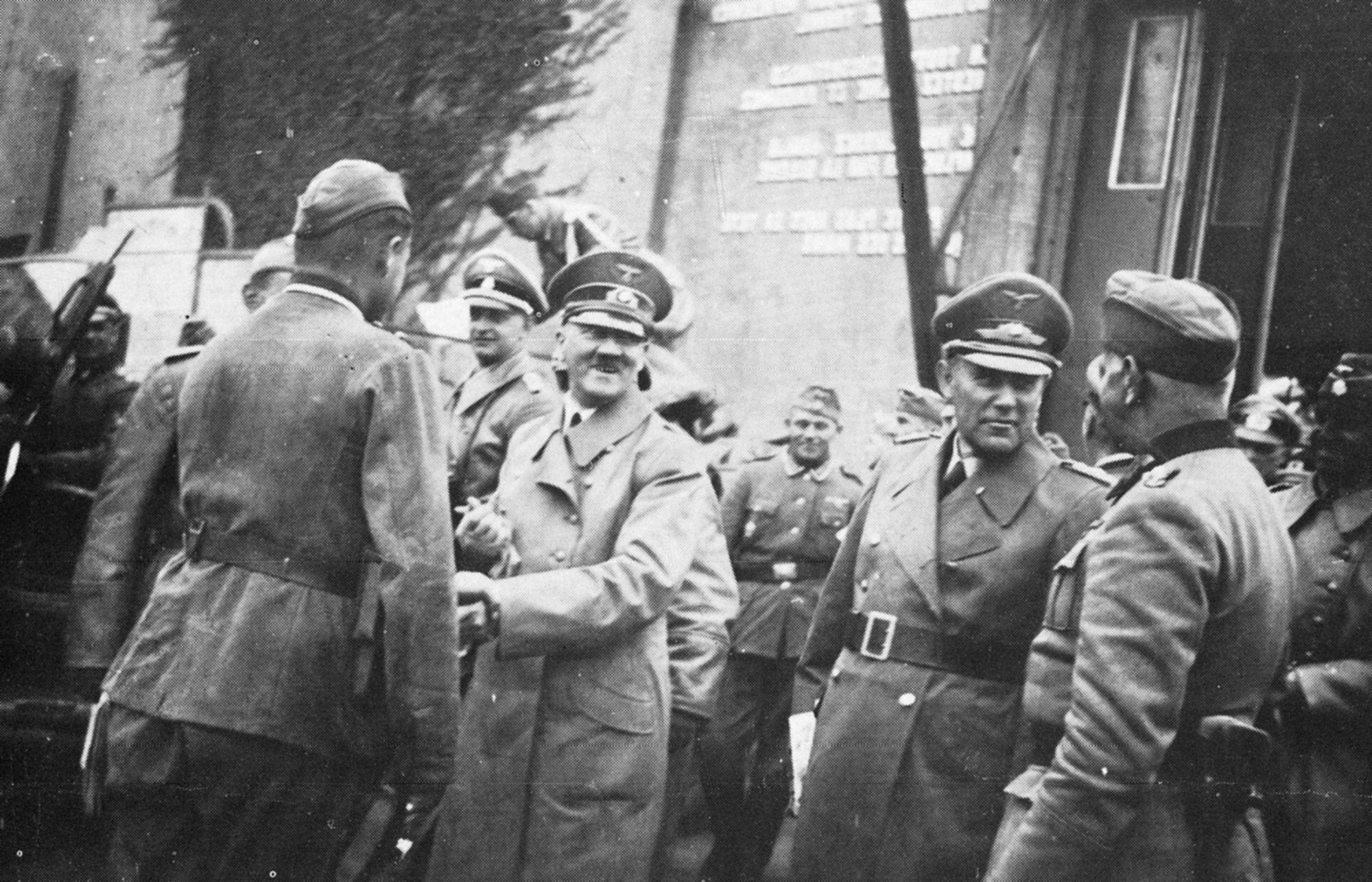 Bezoek van Adolf Hitler aan Wevelgem