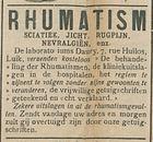 RHUMATISM