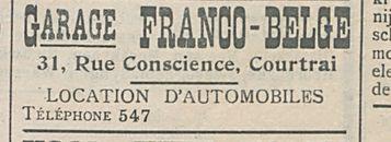 Garage franco-belge