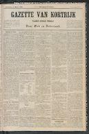 Gazette Van Kortrijk 1885-03-14