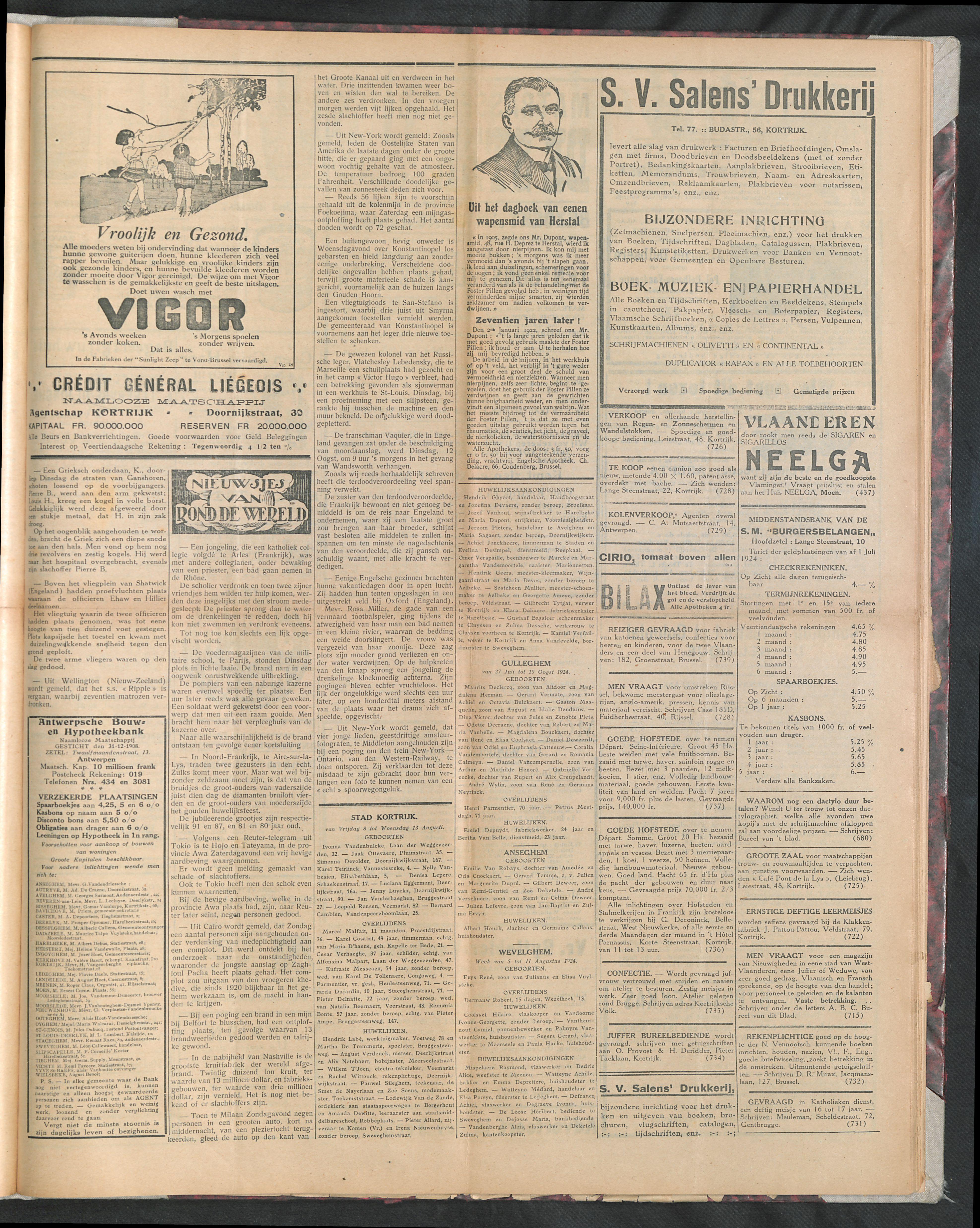 Het Kortrijksche Volk 1924-08-17 p3