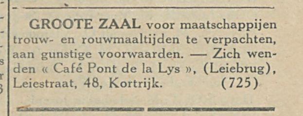 GROOTE ZAAL