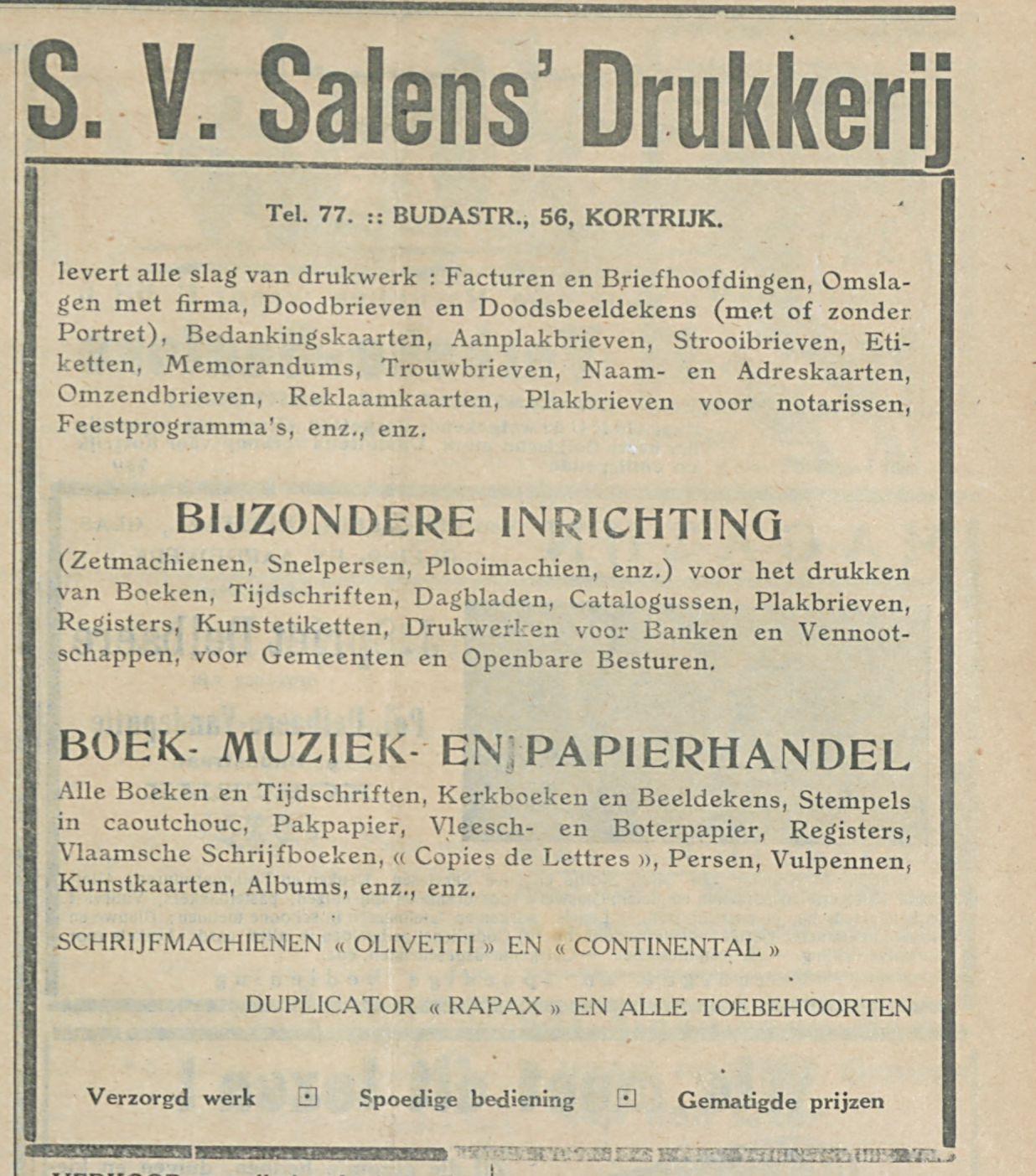 Salens  Drukkerij