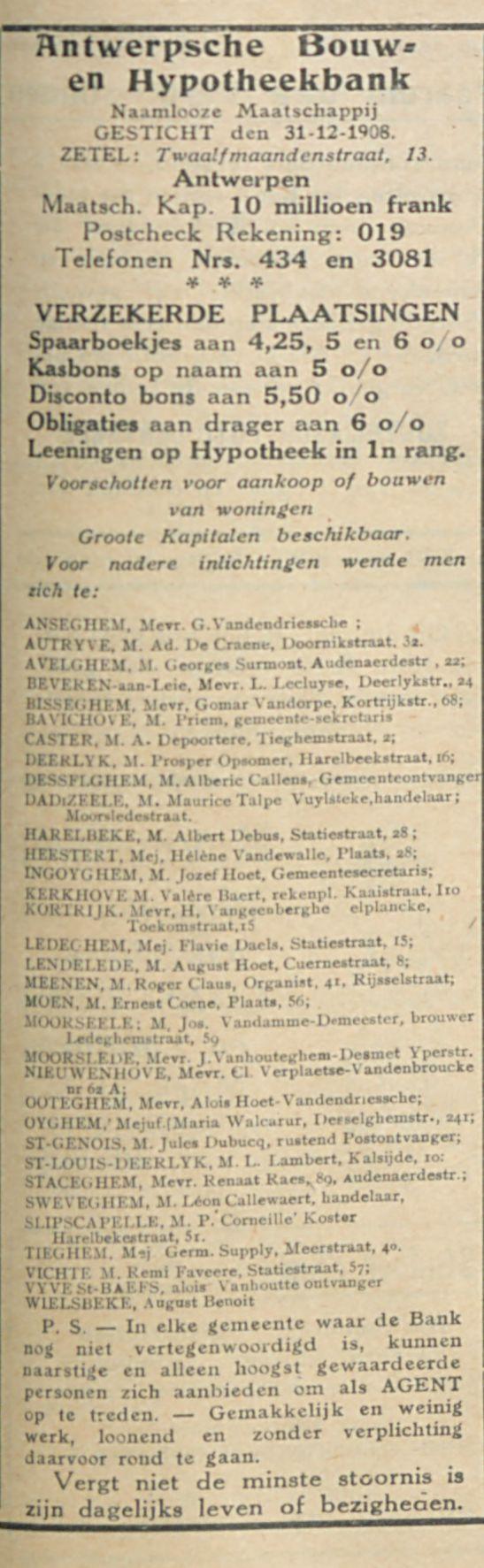 Antwerpsche Bouw en Hypotheekbank