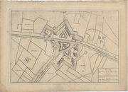 Westflandrica - Plan van het Fort Knokke