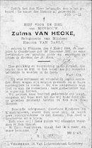 Zulma Van Hecke