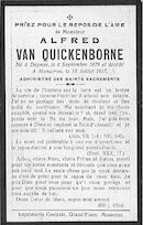 Van Quickenborne Alfred
