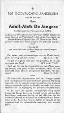 Adolf-Aloïs De Jaegere