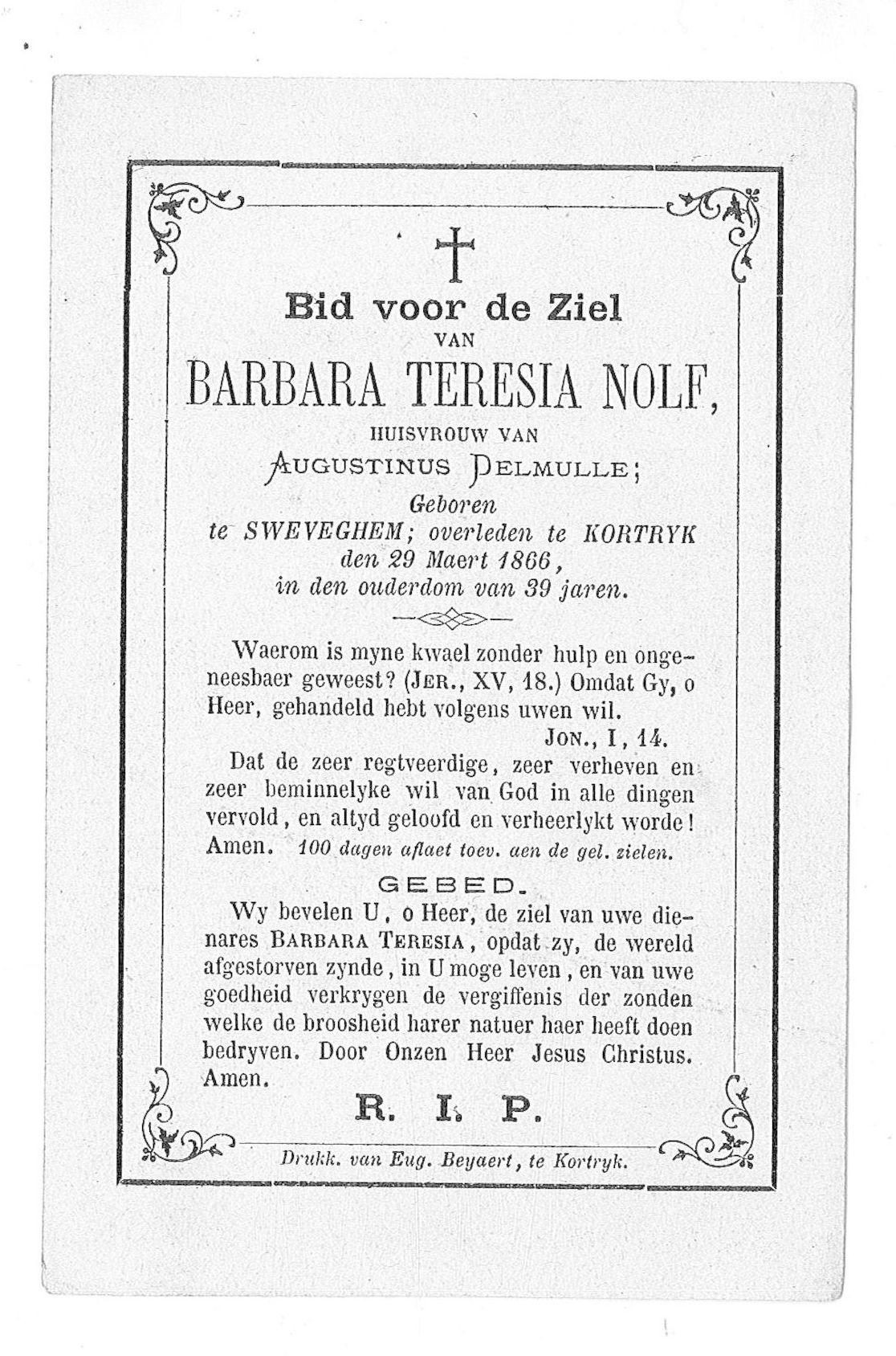Barbara-Teresia Nolf