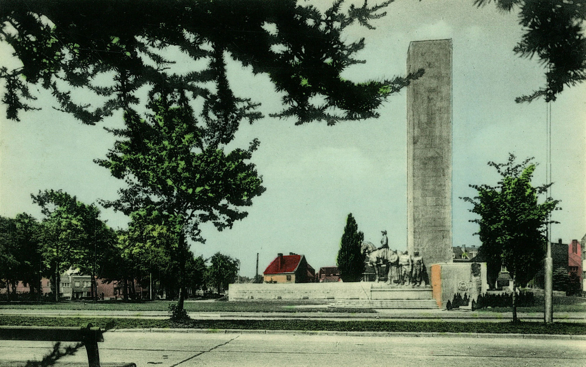 Het Nationaal Leiemonument