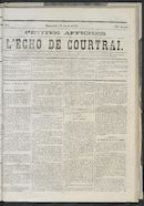 L'echo De Courtrai 1873-04-27 p1
