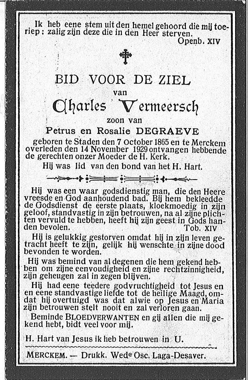 Charles Vermeersch