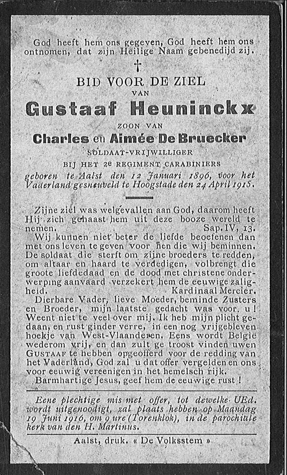 Gustaaf Heuninckx