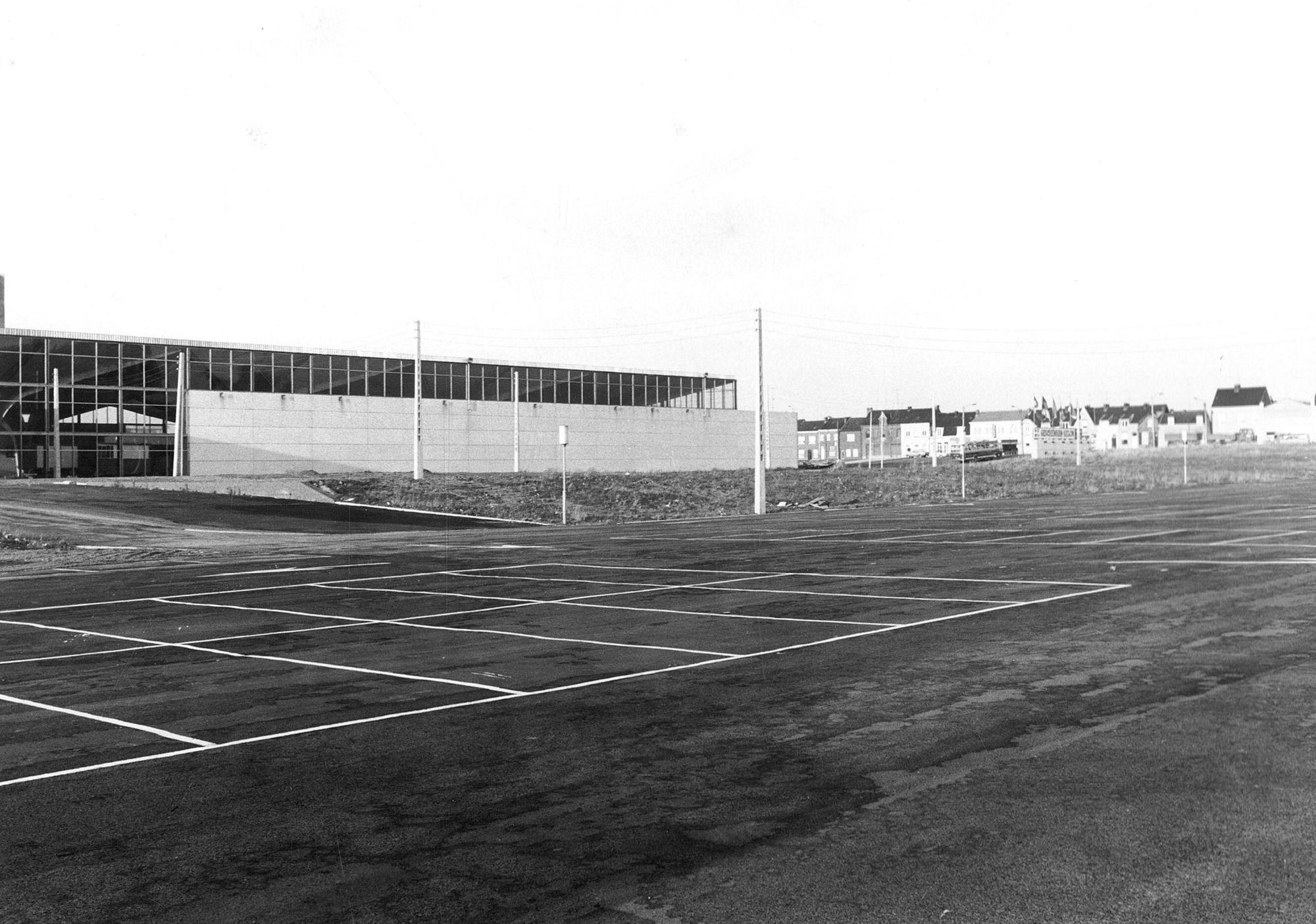 Hallen parking 1967