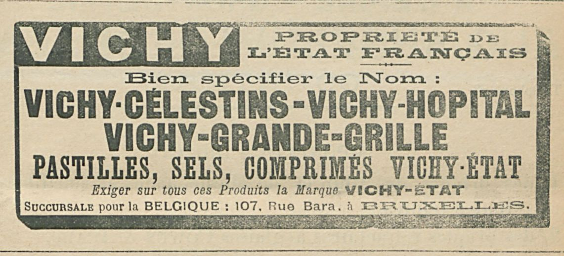 VICHY PROPRIETE