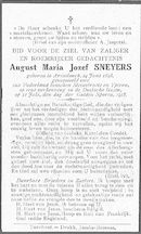 August-Maria-Jozef Sneyers