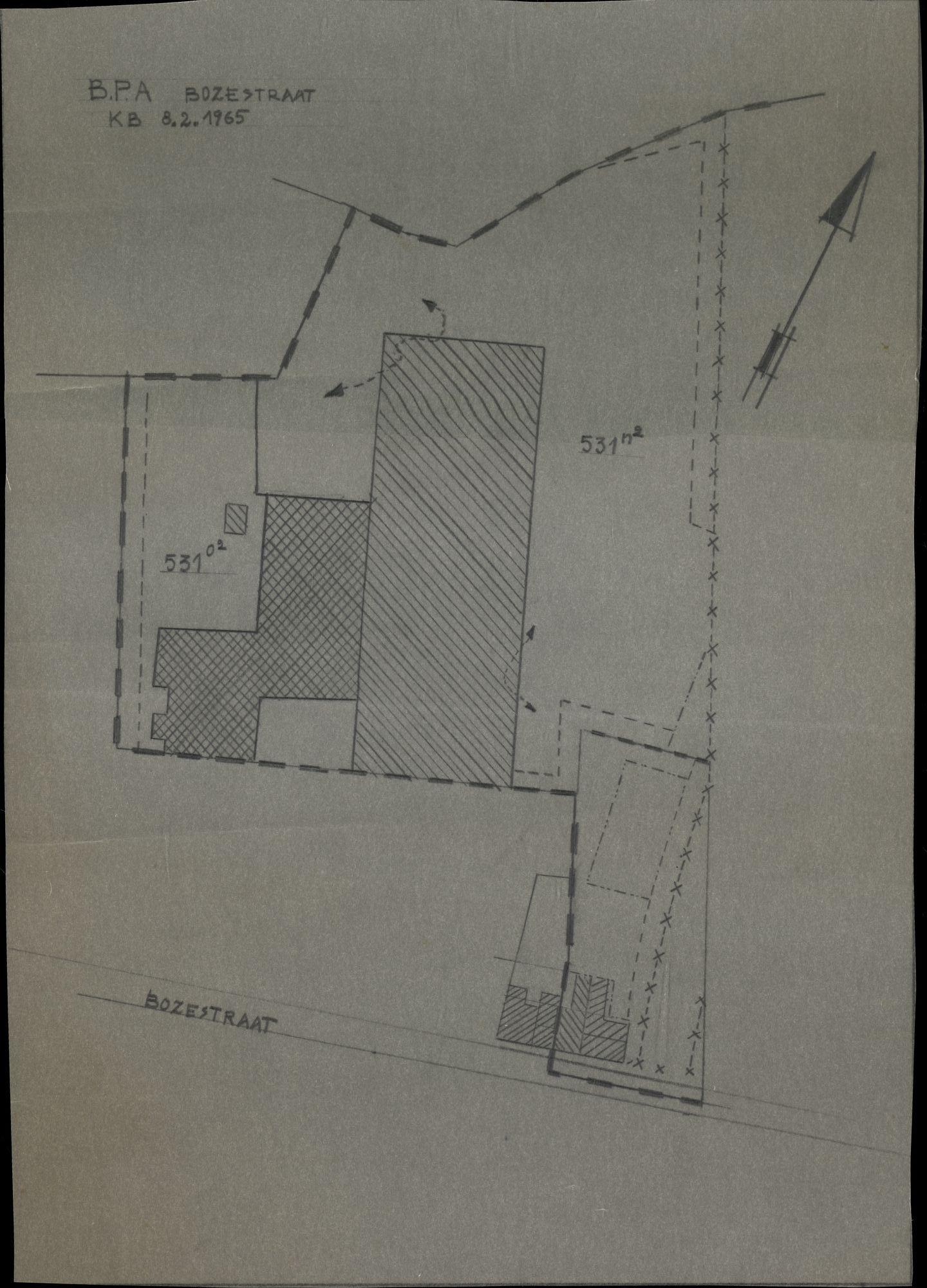 Plan B.P.A.-Bozestraat te Heule, 1965