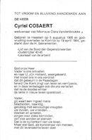 Cyriel Cosaert