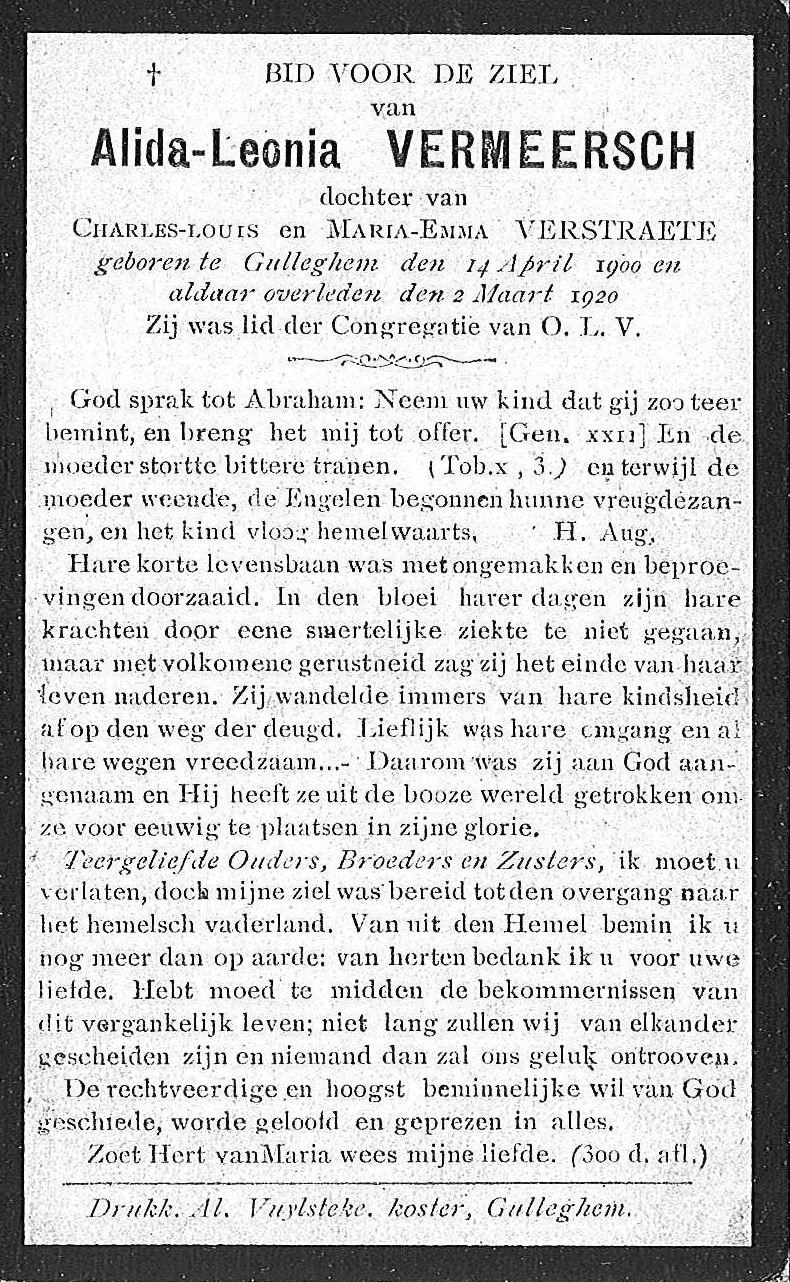Alida-Leonia Vermeersch